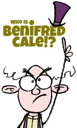 Who is Benifred Cale? Cover