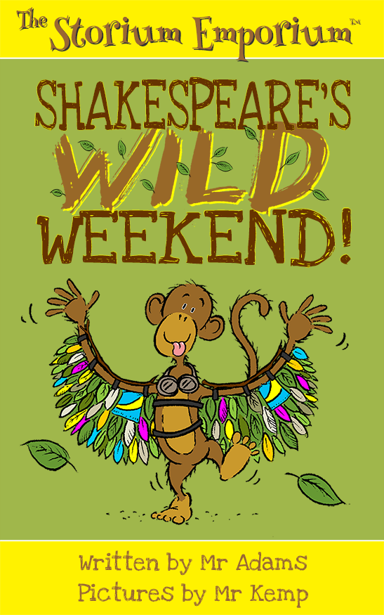 Shakespeare's Wild Weekend Cover